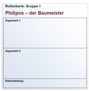 Rollenkarte