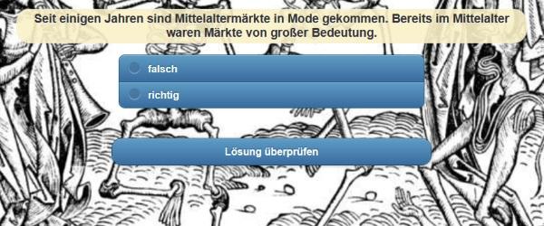 Quiz Mittelalter